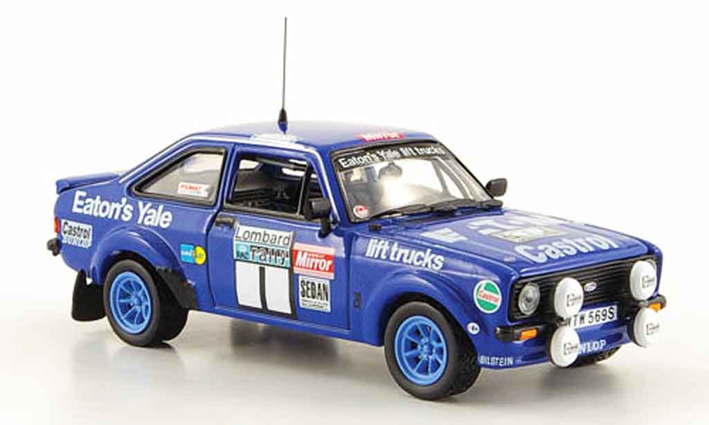 Ford Escort MK2 1/43 Vitesse  No.1 Rally England Mikkola 1979 miniature