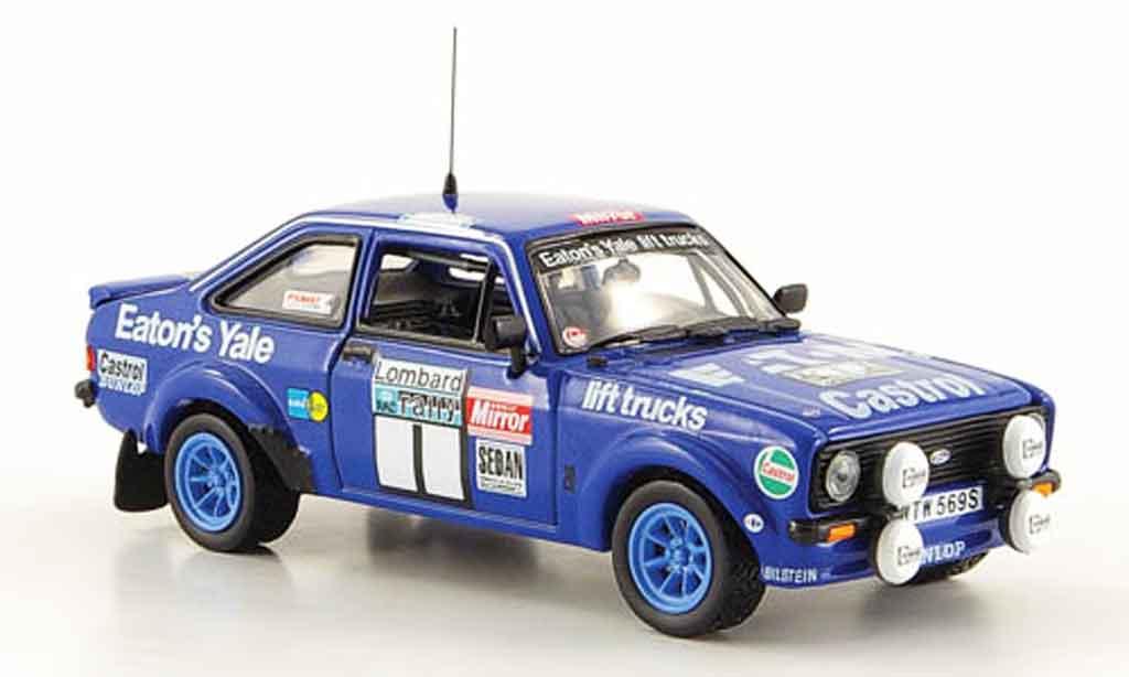 Ford Escort MK2 1/43 Vitesse No.1 Rally England Mikkola 1979 miniature