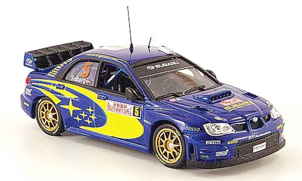 Subaru Impreza WRC 1/43 Vitesse 07 no.5 rallye monte carlo 2008 miniature