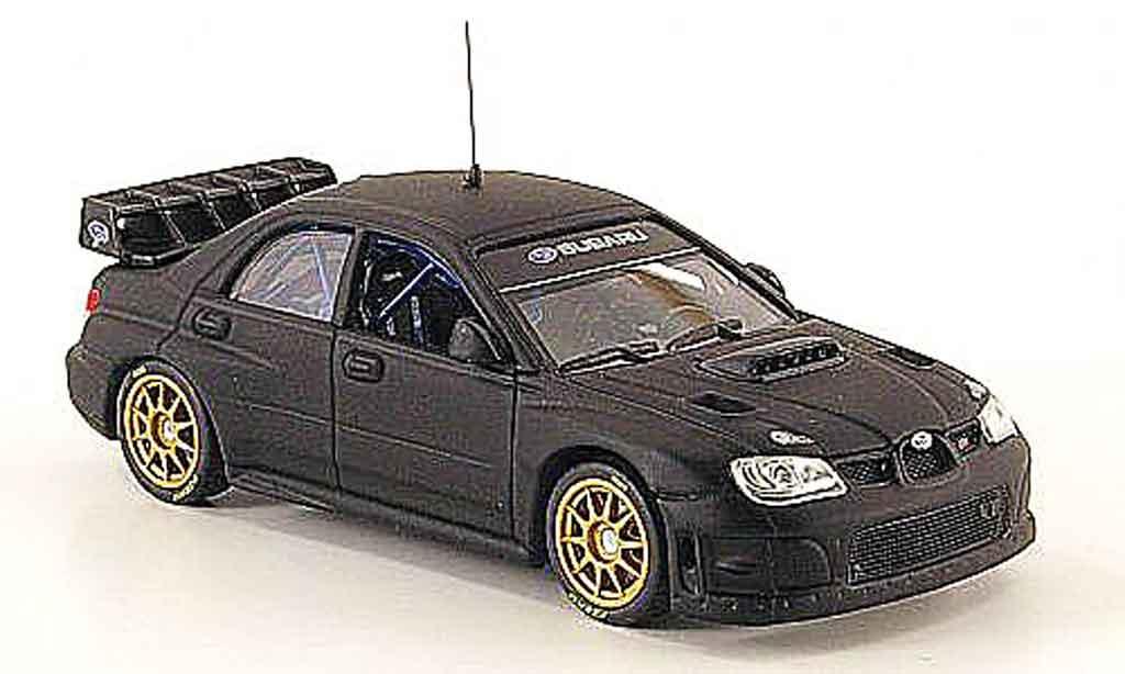 Subaru Impreza WRC 1/43 Vitesse 07 mattnoire miniature