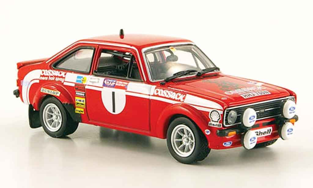 Ford Escort RS 1800 1/43 Vitesse No.1 Cossack Rally Wales 1976 MK2 miniature