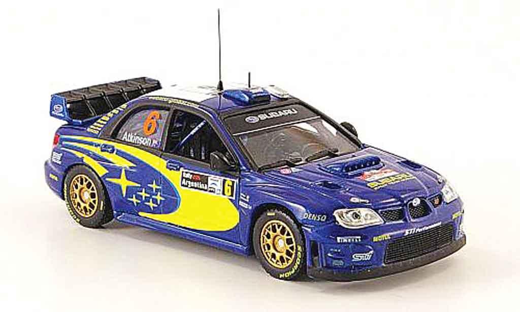 Subaru Impreza WRC 1/43 Vitesse 07 no.6 rallye argentine 2008 miniature