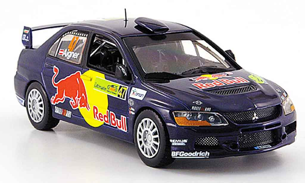 Mitsubishi Lancer Evolution IX 1/43 Vitesse Gr.N Red Bull Rally Griechenland 2007 miniature