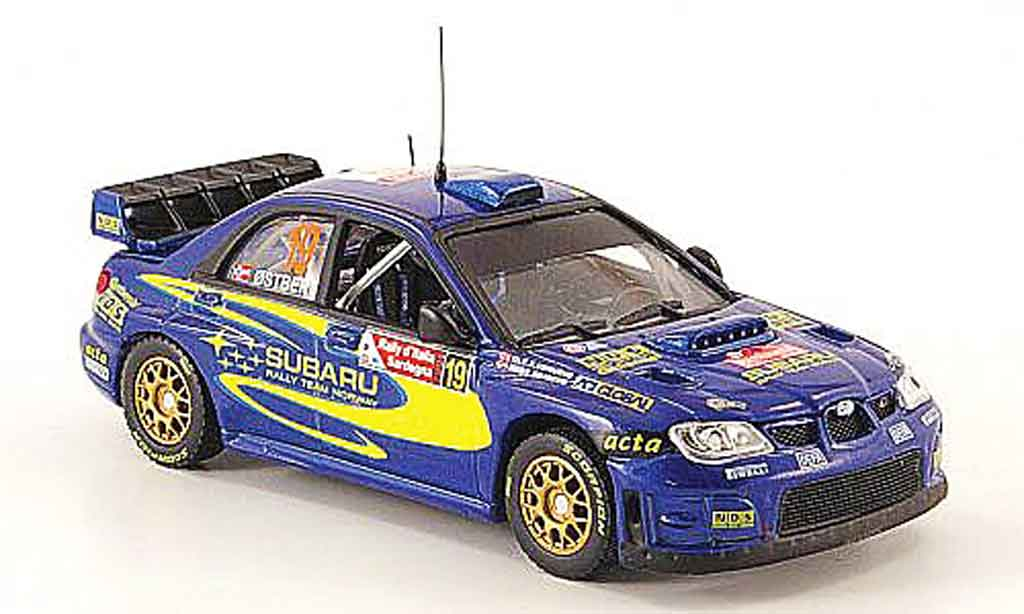 Subaru Impreza WRC 1/43 Vitesse 07 no.19 rallye italien 2008 miniature
