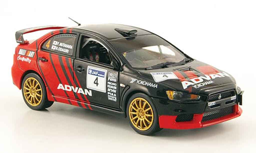Mitsubishi Lancer Evolution IX 1/43 Vitesse No.4 Advan Rally Shinshiro 2008 miniature