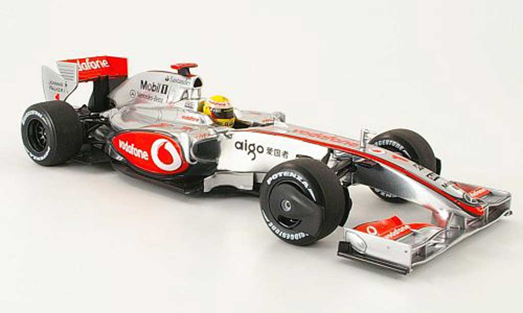 Mercedes F1 1/18 Minichamps mclaren mp 4/24 no.1 vodafone l.hamilton 2009 miniature