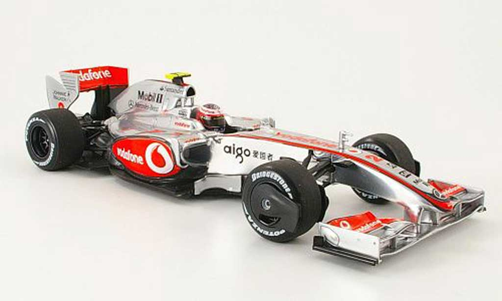 Mercedes F1 1/18 Minichamps mclaren mp 4/24 no.2 vodafone h.kovalainen 2009 miniature