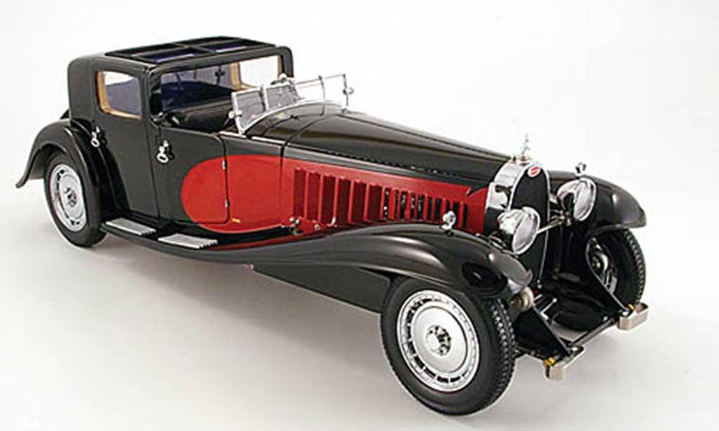 Bugatti Royale 1/18 Bauer coupe de ville rouge noire 1931 miniature