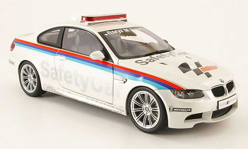 Bmw M3 E92 1/18 Kyosho coupe safety car motogp 2008 diecast model cars