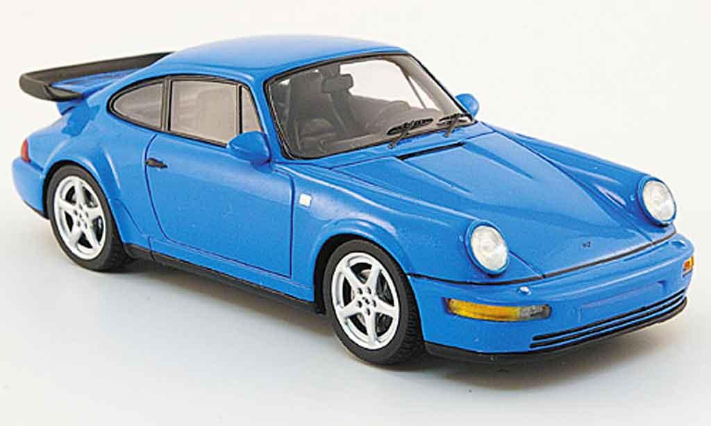 Ruf RCT 1/43 Spark Evo bleu 1992 miniature