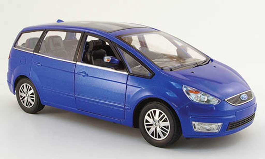 Ford Galaxy 1/18 Powco bleu 2007 miniature