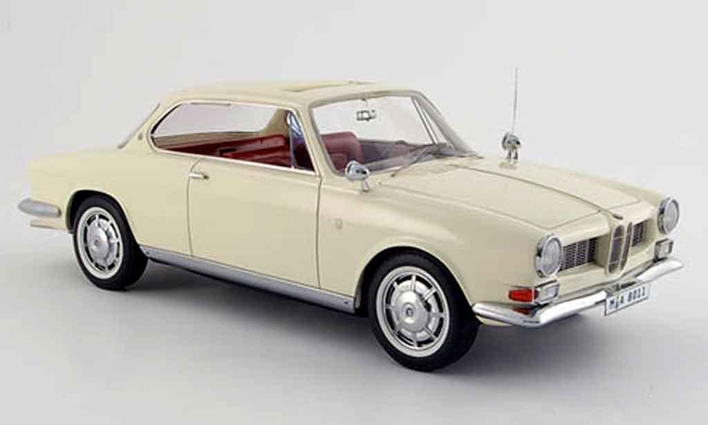 Bmw 3200 1/18 Neo CS bertone beige 1961 miniature