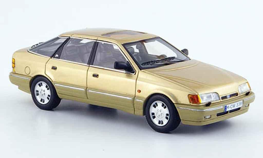 Ford Scorpio MK1 1/43 Neo beige edition liavecee 300 1986 miniature