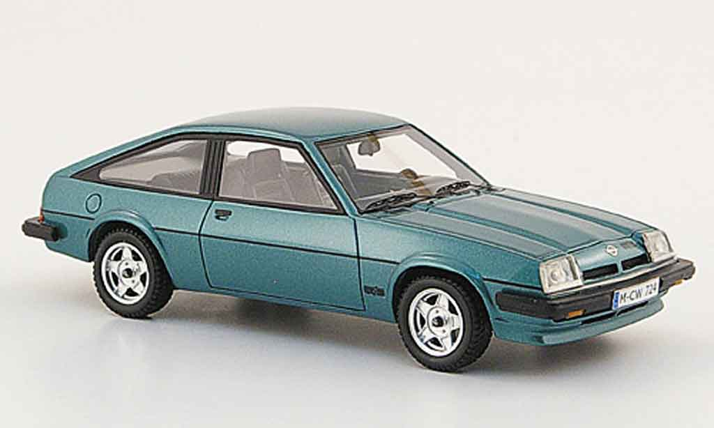 Opel Manta B 1/43 Neo cc gt e petrol edition liavecee 1980 miniature