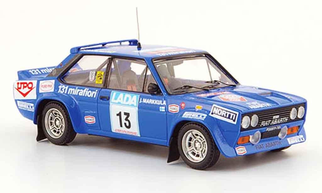 Fiat 131 1/43 Trofeu Abarth No.13 Rally Finnland 1977 diecast