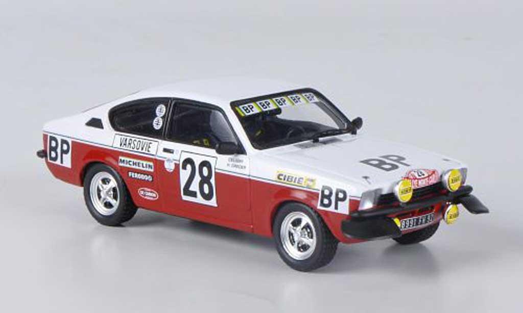 Opel Kadett C 1/43 Trofeu GT/E No.28 BP H.Greder/Celigny Rally Monte Carlo 1977 miniature