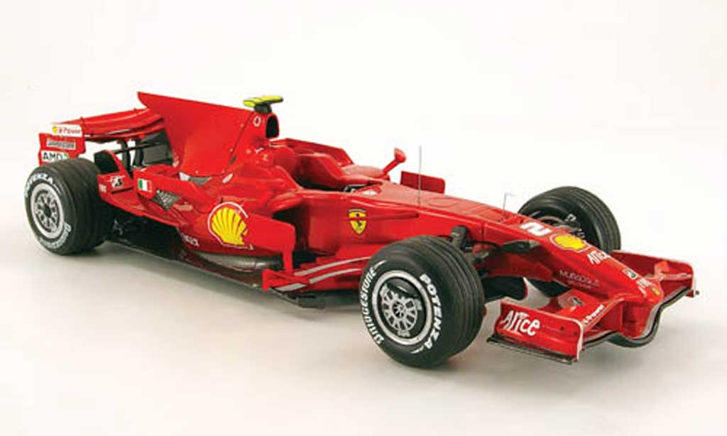 Ferrari F1 F2008 1/18 Hot Wheels no.2 f.massa sieger gp europa valencia miniature