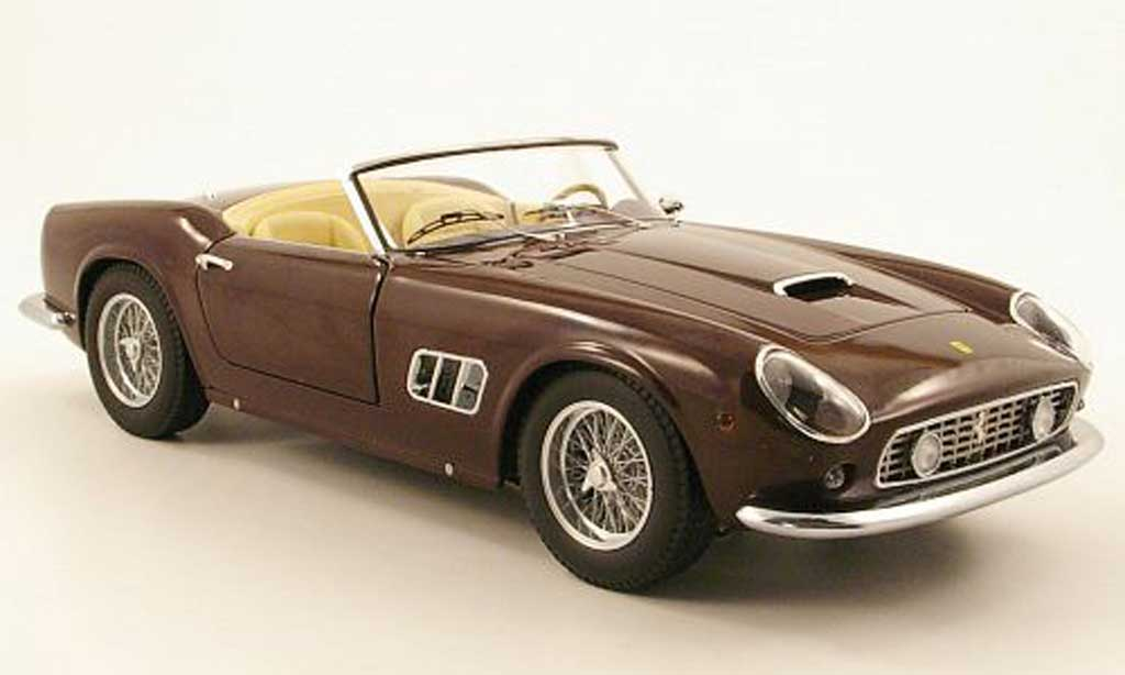Ferrari 250 GT California 1/18 Hot Wheels spider swb rouge miniature