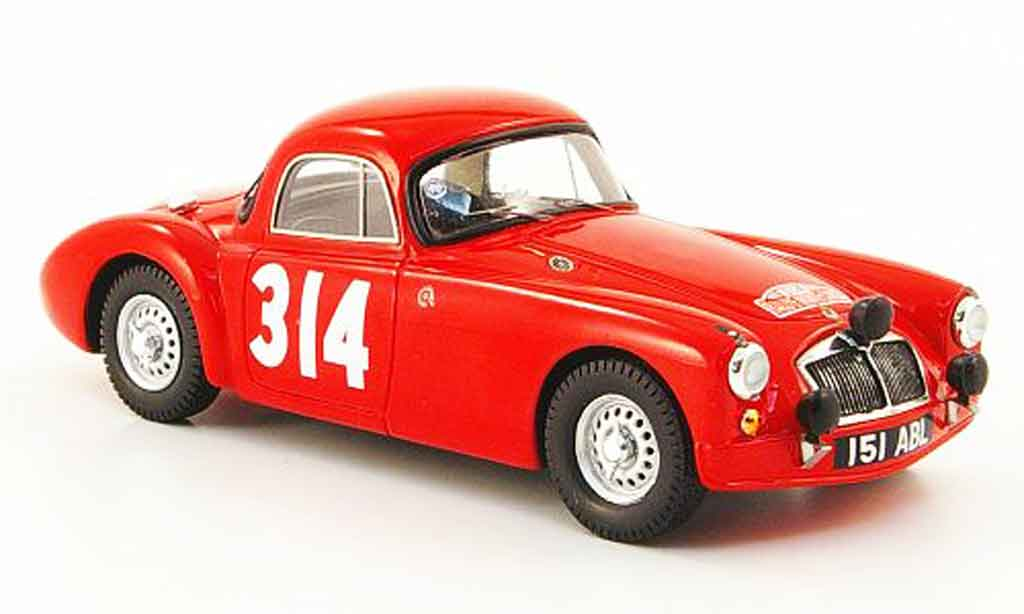 MG A 1/43 Bizarre No.314 Rally Monte Carlo 1962
