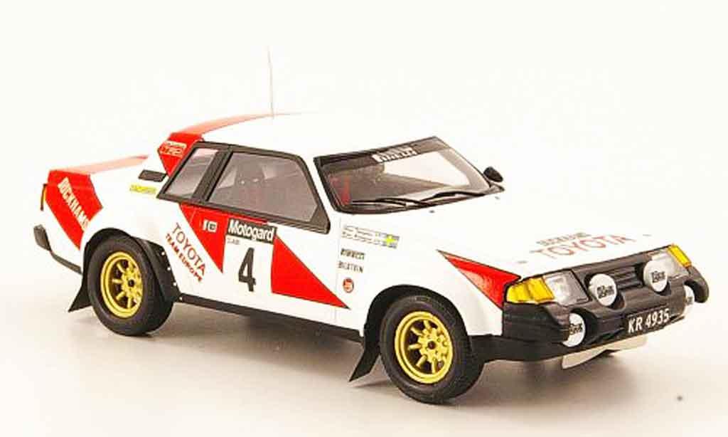 Toyota Celica 1/43 Bizarre 2000 gt no.4 sieger rallye neuseeland 1982 diecast model cars