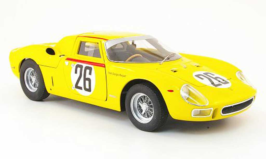 Ferrari 250 LM 1965 1/18 Hot Wheels no.26 dumay/gosselin 24h le mans modellino in miniatura