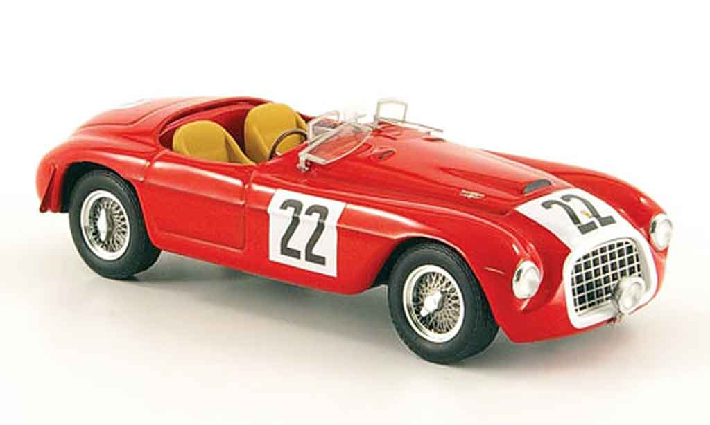 Ferrari 166 1949 1/43 Hot Wheels Elite MM barchetta no.22 24h le mans modellautos