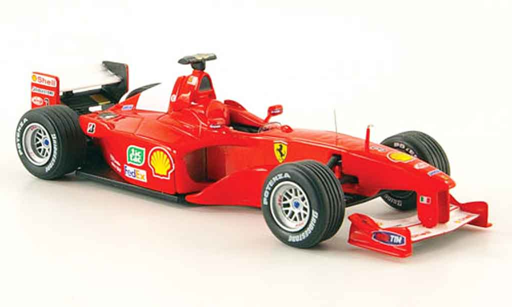 Ferrari F1 F2000 1/43 Hot Wheels Elite no.3 m.schumacher 2000 miniature