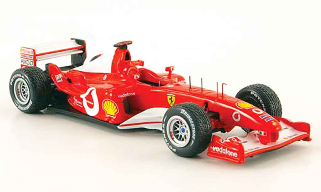 Ferrari F1 F2003 1/43 Hot Wheels Elite ga no.1 m.schumacher 2003 miniature