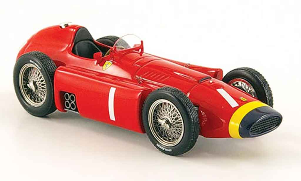 Ferrari D50 1/43 Hot Wheels Elite d50 no.1 j.m.fangio miniature