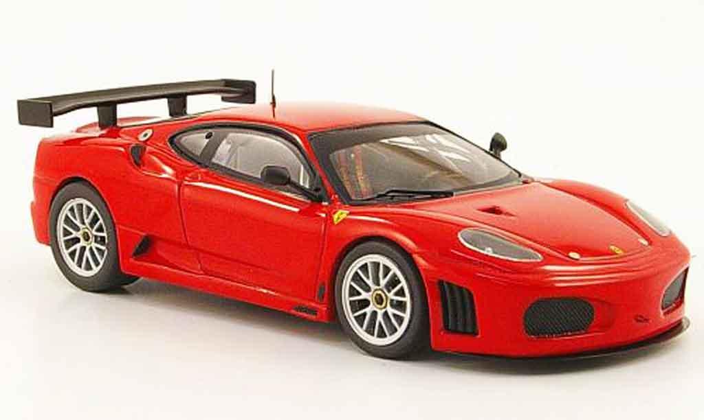 Ferrari F430 GTC 1/43 Hot Wheels Elite rouge 2007 miniature