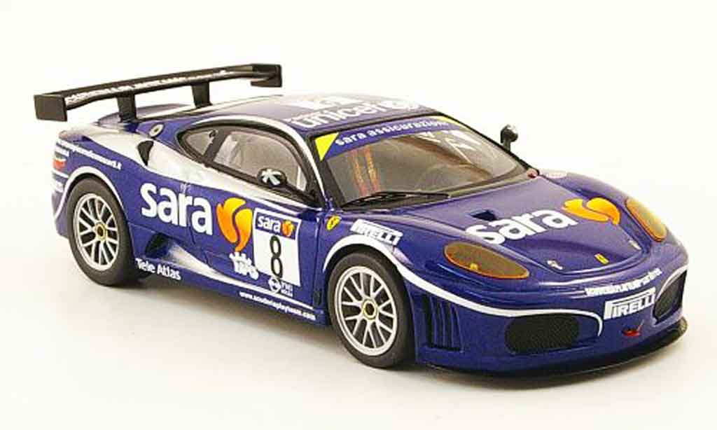 Ferrari F430 GTC 1/43 Hot Wheels Elite no.8 sara  italienische meisterschaft 2007 diecast