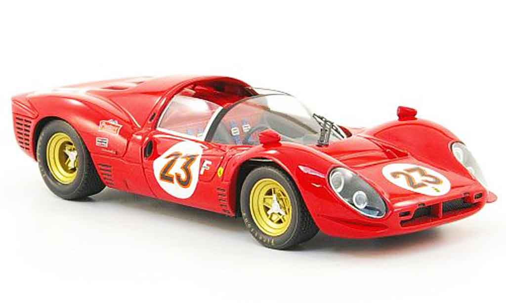 Ferrari 330 P4 1/43 Hot Wheels Elite no.23 daytona 1967 miniature