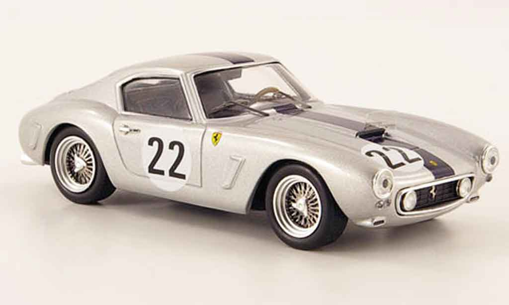 Ferrari 250 GT 1960 1/43 Hot Wheels Elite berlinetta swb no.22 24h le mans miniature