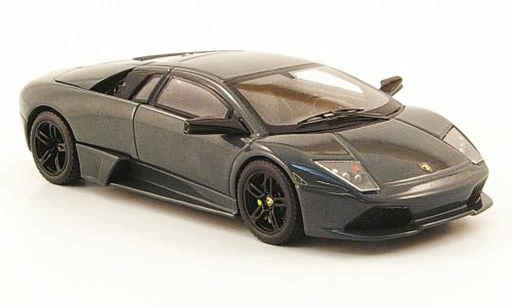 Lamborghini Murcielago LP640 1/43 Hot Wheels Elite grise miniature