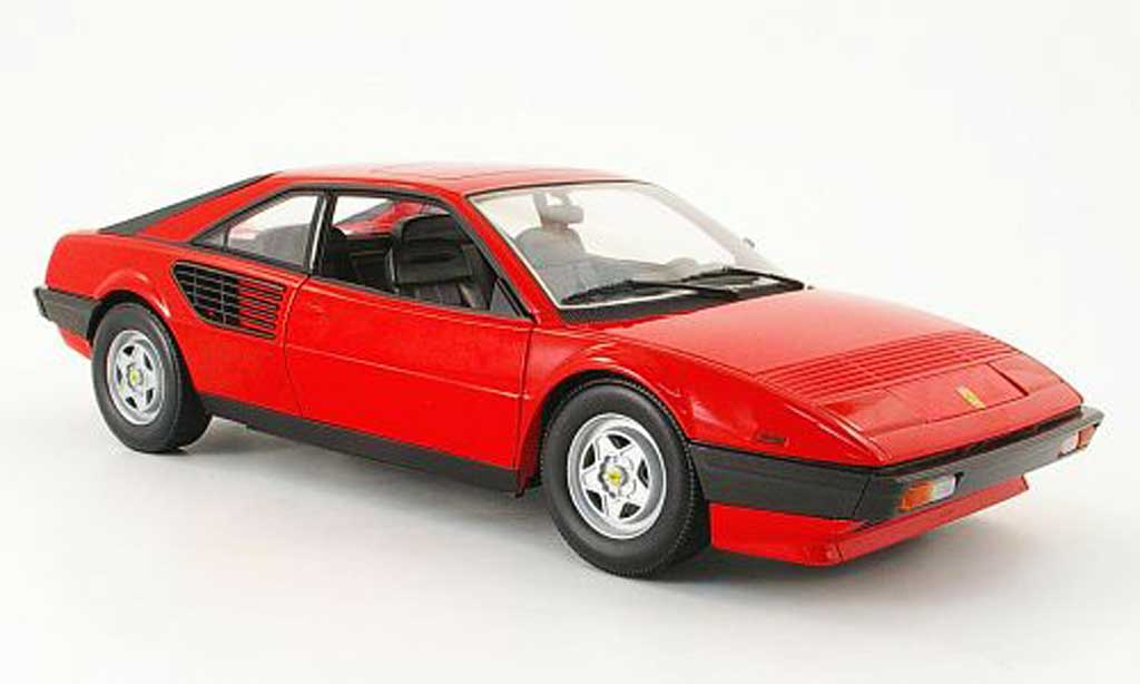 Ferrari Mondial 1/18 Hot Wheels 8 red diecast model cars