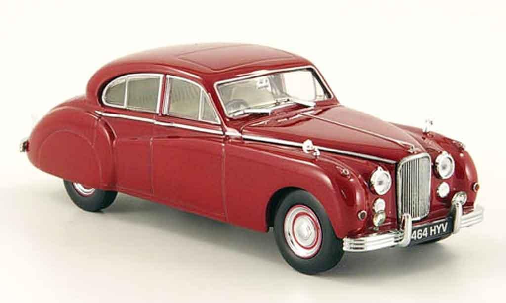 Jaguar MK 7 1/43 Oxford m rouge queen mother miniature