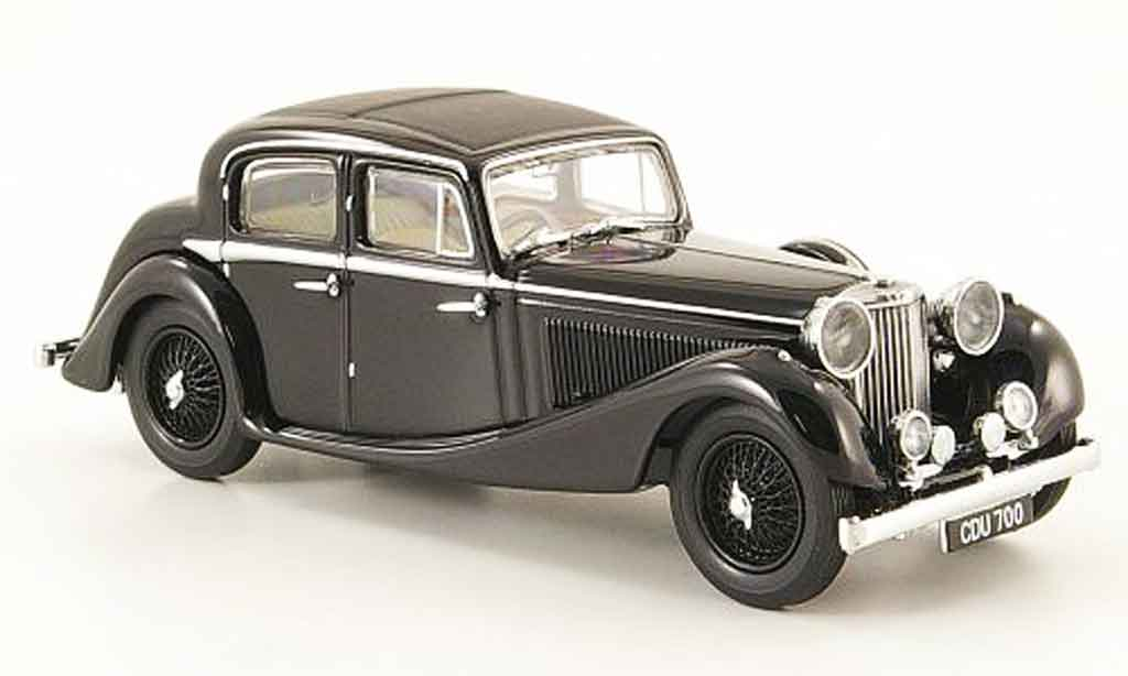 Jaguar SS 1/43 Oxford 2.5 saloon black diecast