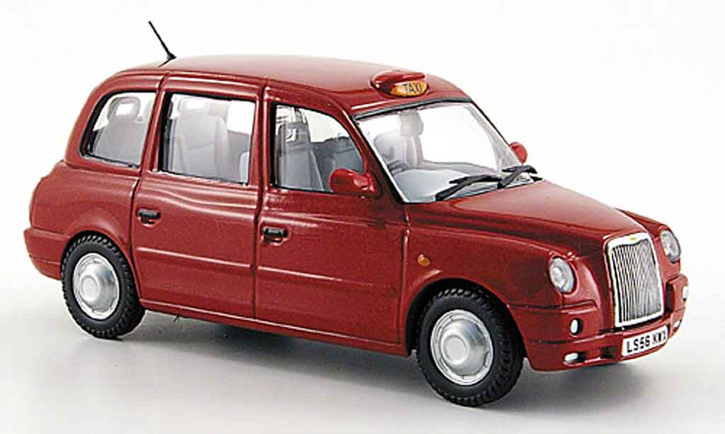 Austin TX4 1/43 Oxford Taxi  rouge miniature