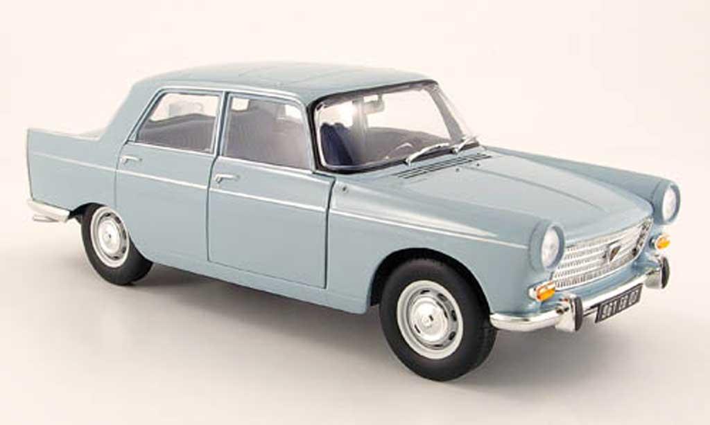 Peugeot 404 Berline 1/18 Norev bleu 1965 miniature