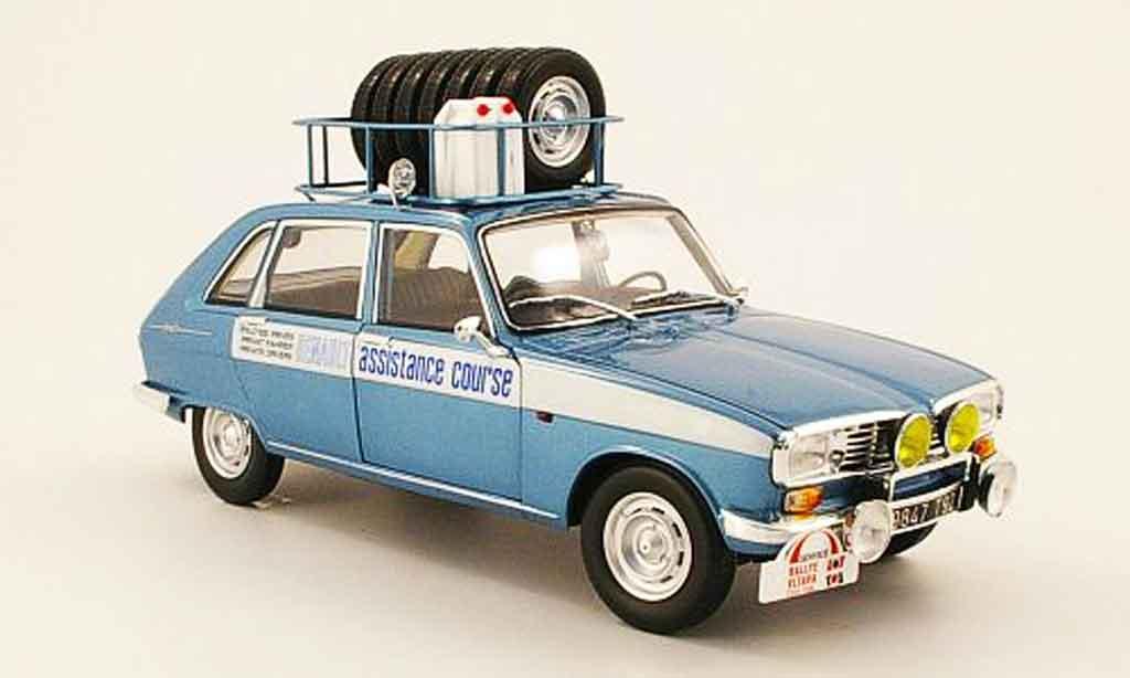 Renault 16 1/18 Norev assistance course avec pneus et bidon essance 1968 miniature