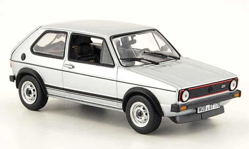 Volkswagen Golf 1 GTI 1/43 Norev 1 GTI grau metallisee 1976 modellautos