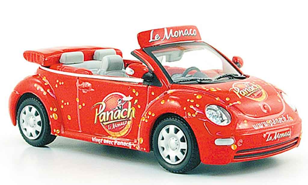 Volkswagen New Beetle 1/43 Norev cabrio panach monaco tour de france 2009 miniatura