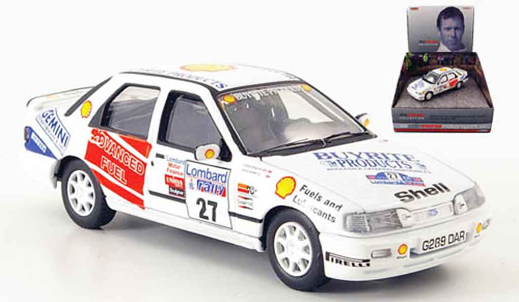 Ford Sierra Cosworth RS 1/43 Vanguards Cosworth 4 x 4 Gr.A Rally England 1990 miniature