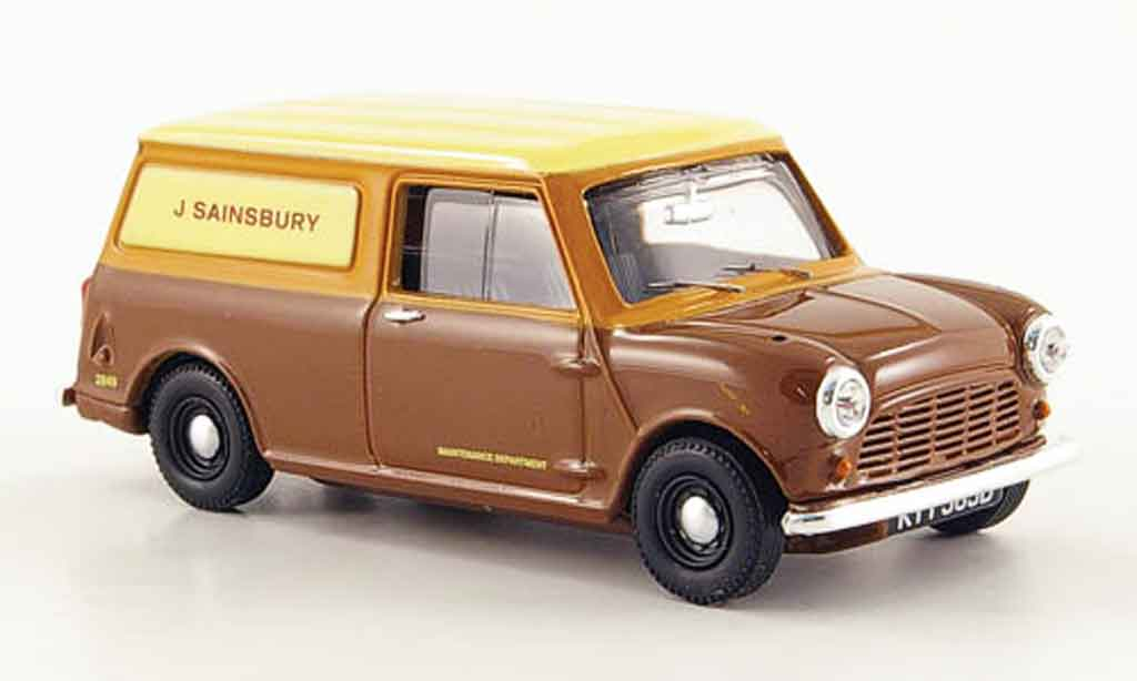 Austin Mini Van 1/43 Vanguards J Sainsbury Maintenance Department miniature