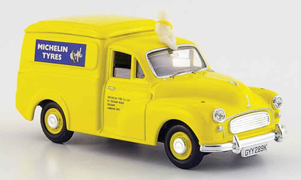 Morris Minor 1/43 Vanguards Van yellow Michelin 1971 diecast
