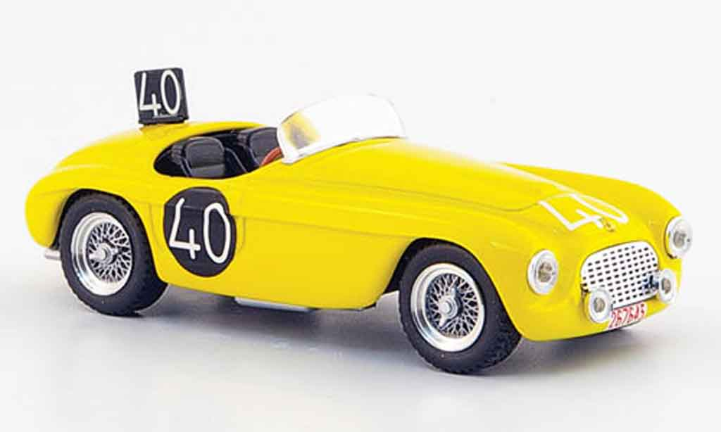 Ferrari 166 1949 1/43 Art Model Spider mm no.40 roosdorp de ridder spa miniature