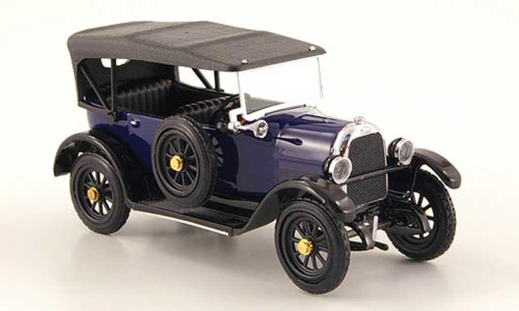 Fiat 501 1/43 Rio Torpedo bleu 1919 coche miniatura