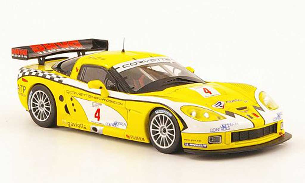 Chevrolet Corvette C6 1/43 IXO R No.4 Sieger FIA GT Paul Ricard 2006 diecast model cars
