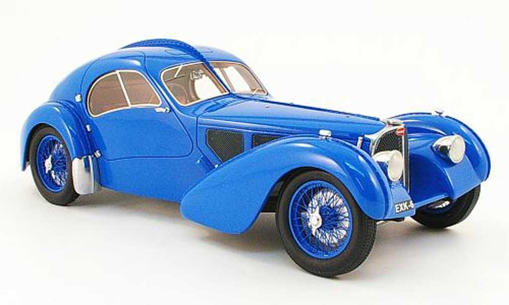 Bugatti 57 SC 1/18 Neo atlantic bleu 1938 miniature