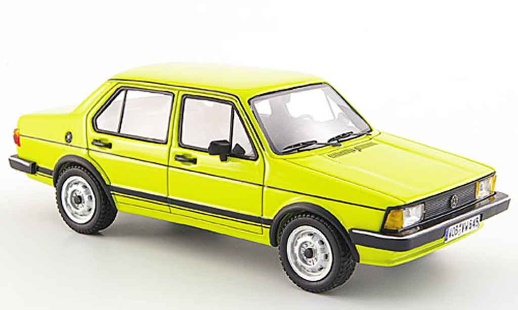 Volkswagen Jetta 1/43 Neo i yellow 4 portes 1980 diecast model cars